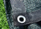 HDPE 180GSM Black Privacy Fence Screen Mesh Netting With 90% Blockage